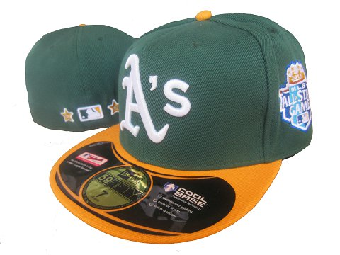 Okaland Athletics 59 Fifty Fitted MLB Hat LX1